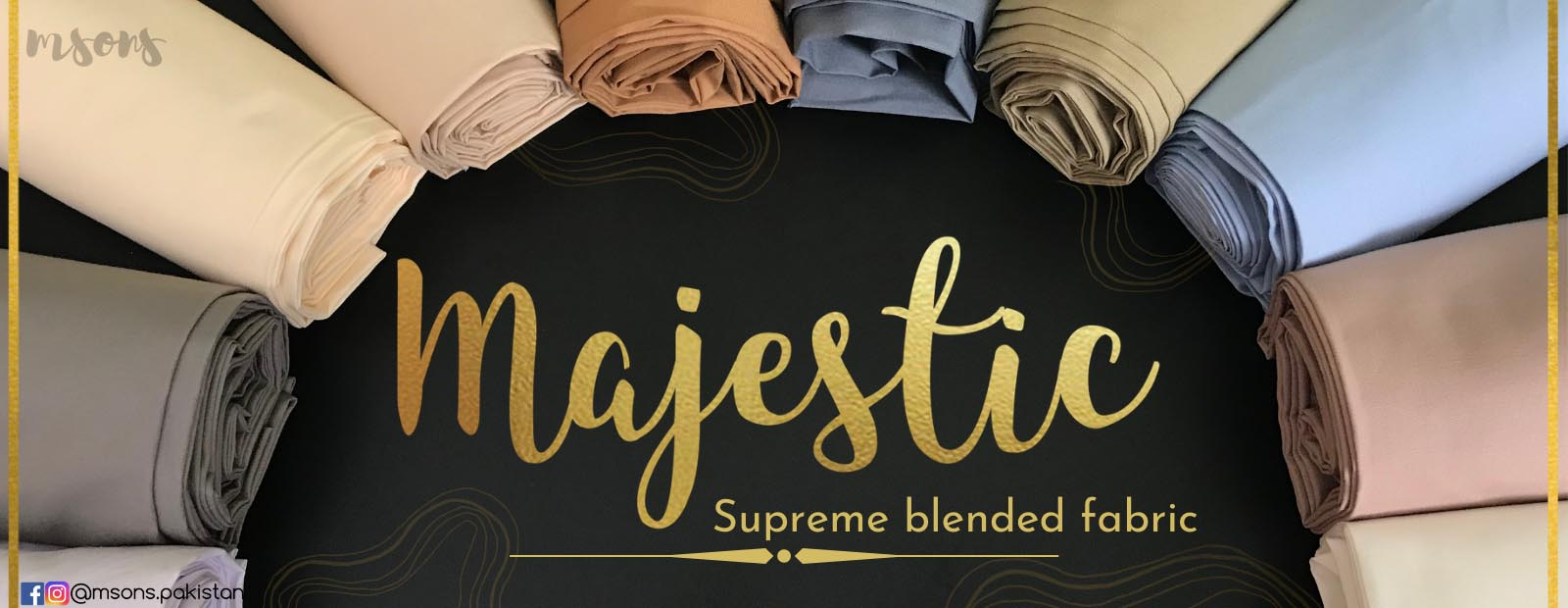 Majestic Website Banner