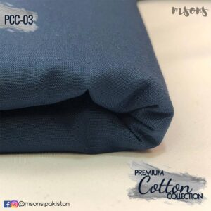 Navy Blue Premium Cotton
