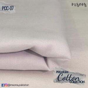White Premium Cotton
