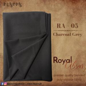 Charcoal Grey Royal Absar