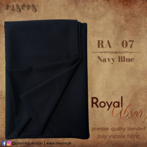 Navy Blue Royal Absar